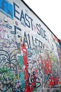 East Side Gallery, 1,3 km de mur, Berlin