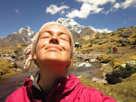 Anne-Marie au Népal